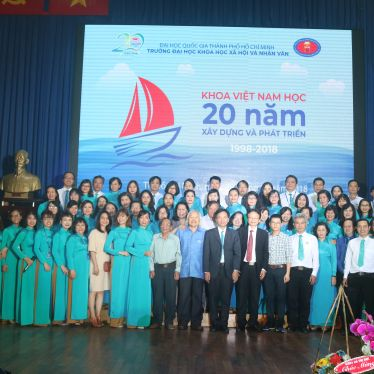 Faculty of Vietnamese Studies - 20 Years of Development